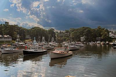 Photograph - Perkins Cove Me by Michael Saunders