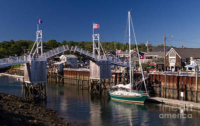 Perkins Cove Ogunquit Maine Art Print
