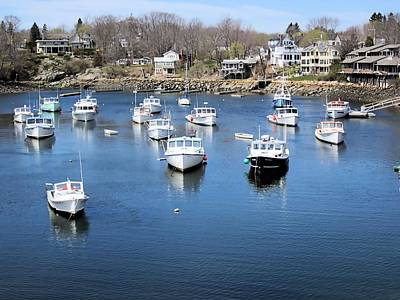 Photograph - Perkins Cove Ogunquit Maine by Patricia Urato