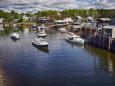 Photograph - Perkins Cove by Pamela Hodgdon