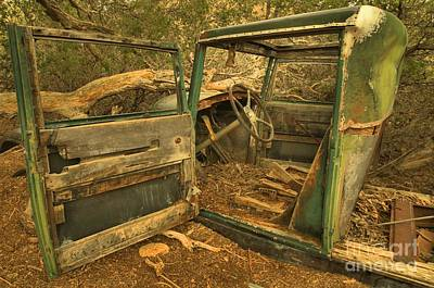 Mining Truck Photograph - Permanent Parking by Adam Jewell