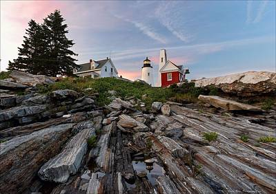 Photograph - Permaquid At Twilight by Daniel Behm