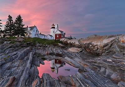 Permaquid Lighthouse Art Print