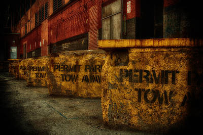 Photograph - Permit Tow Grunge Img 7860 by Greg Kluempers