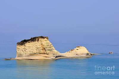 Photograph - Peroulades Area In Corfu Island by George Atsametakis