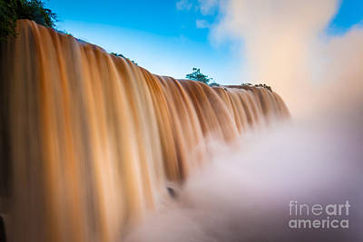 Brazil Photograph - Perpetual Flow by Inge Johnsson