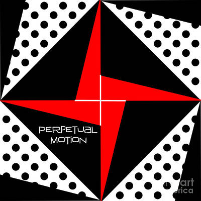 Perpetual Motion Print by Methune Hively