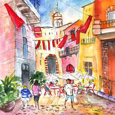 South Of France Painting - Perpignan 04 by Miki De Goodaboom