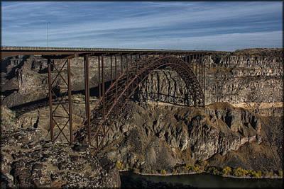 Photograph - Perrine Bridge by Erika Fawcett
