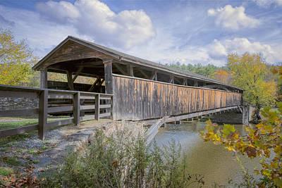 Perrine's Covered Bridge Print by Joan Carroll