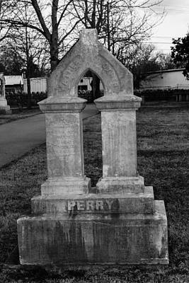 Photograph - Perry Family Grave Marker by Robert Hebert