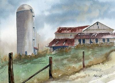Ohio Painting - Perry Rd by Marsha Elliott