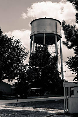 Photograph - Perry Water Tower  by Nathan Hillis