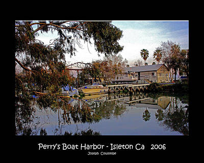Digital Art - Perrys Boat Harbor 2006 by Joseph Coulombe