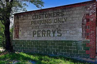 Photograph - Perrys Meat Market by Jerry Gammon