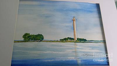 Painting - Perry's Monument by Jill Morris