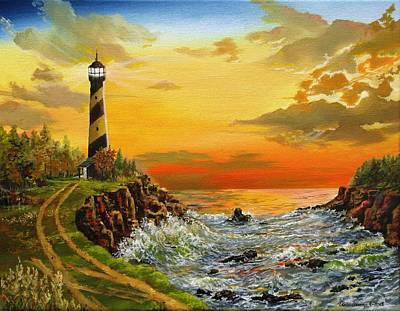 Painting - Perry's Point by Kevin F Heuman