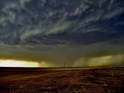 Photograph - Perryton Supercell by Ed Sweeney