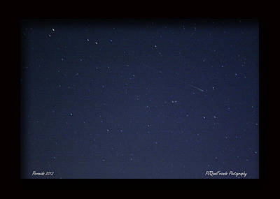 Perseid Meteor Art Print by PJQandFriends Photography