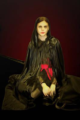 Zeus Mixed Media - Persephone Queen Of Underworld by Viktor Savchenko