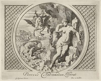 Perseus And Andromeda, Gerard De Lairesse Art Print by Quint Lox