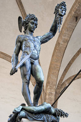 Photograph - Perseus By Cellini by Melany Sarafis