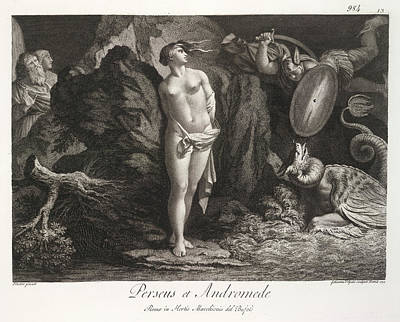 Perseus Photograph - Perseus Et Andromede by British Library