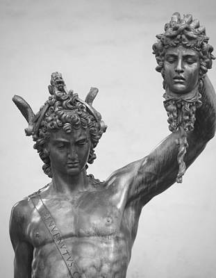 Photograph - Perseus With Head Of Medusa by Caroline Stella