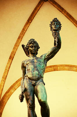 Photograph - Perseus With The Head Of Medusa by Mick House