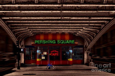 Photograph - Pershing Square Cafe by Susan Candelario