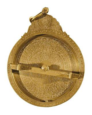 Astronomical Art Photograph - Persian Astrolabe From 17th Century by Everett