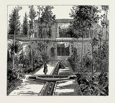 Old Style Drawing - Persian House, Old Style by Litz Collection