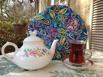 Photograph - Persian Tea Cozy by Shirin Shahram Badie