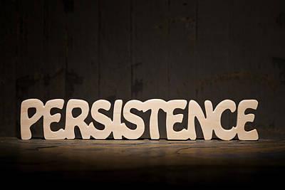 Positive Attitude Photograph - Persistence by Donald  Erickson