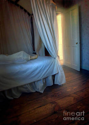 Photograph - Person In Bed by Jill Battaglia