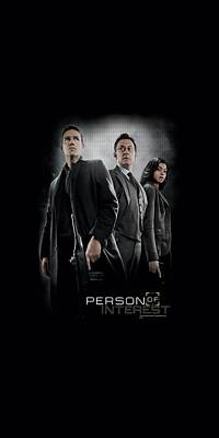 Finch Digital Art - Person Of Interest - Cast by Brand A