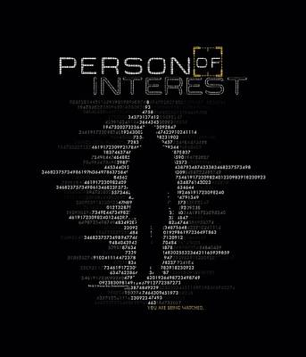Finch Digital Art - Person Of Interest - Digits by Brand A