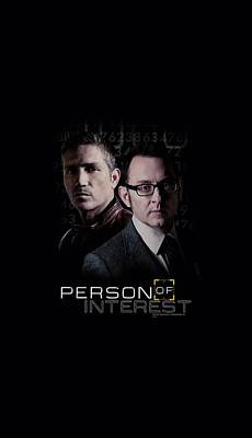 Finch Digital Art - Person Of Interest - Persons by Brand A