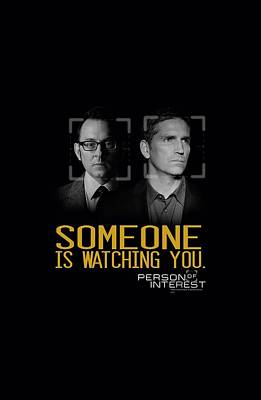 Finch Digital Art - Person Of Interest - Someone by Brand A
