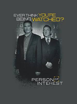 Finch Digital Art - Person Of Interest - Watched by Brand A
