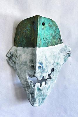 Outsider Sculpture - Persona No.3 by Mark M  Mellon