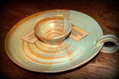 Personal Chip And Dip Platter Original