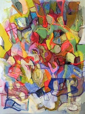 Inner Self Digital Art - Personal Progress 5 by David Baruch Wolk