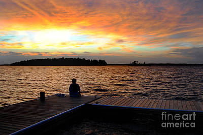 Lake Murray Photograph - Personal Thoughts by Skip Willits