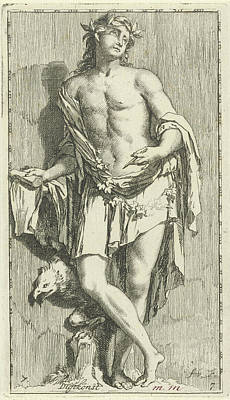 Personification Of Poetry, Arnold Houbraken Art Print