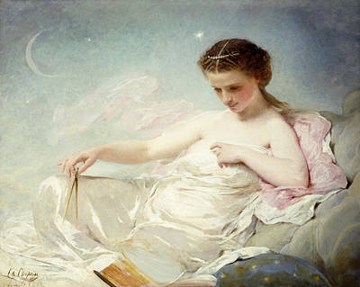 Strapless Painting - Personification Of The Sciences by Charles Chaplin