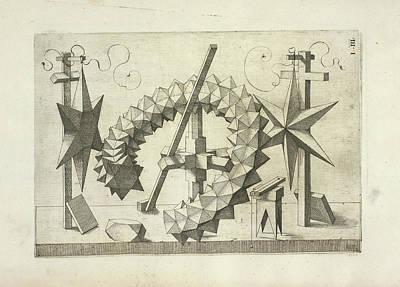 Book Illustrations Photograph - Perspectiva Corporum Regularium by British Library