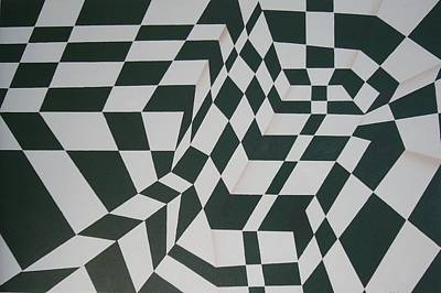 Painting - Perspective Confusion by Leana De Villiers