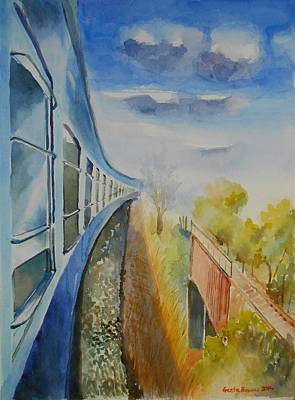Painting - Perspective by Geeta Biswas