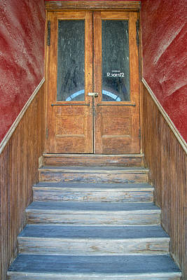 Photograph - Perspective In A Stairwell To Room 12 by Mary Lee Dereske